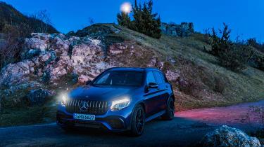 Mercedes-AMG GLC 63 S - dark