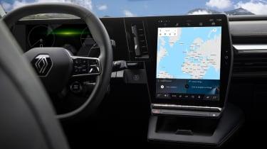Renault Megane E-Tech Electric - screen