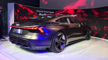 Audi e-tron GT concept LA motor show