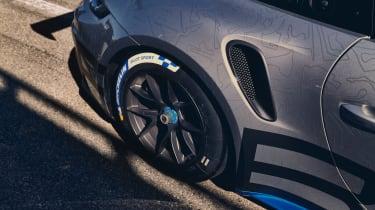 992 Porsche 911 GT3 Cup rear wheel