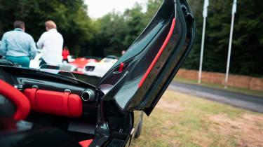 Ferrari Monza SP2 Goodwood FoS door