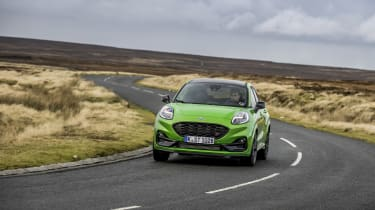 Ford Puma ST 2021 review – front pan