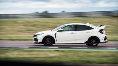 evo Trackday Rockingham 24AUG - Civic