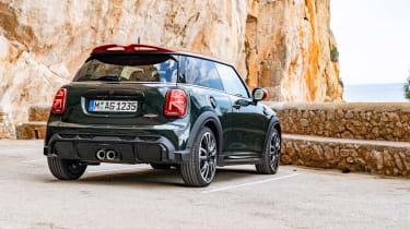 2021 Mini JCW revealed - rear static