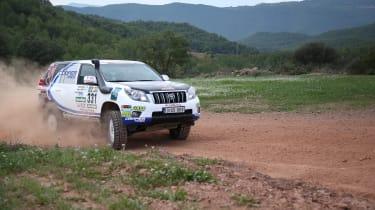 Xavier Foj – Dakar – Toyota Hilux