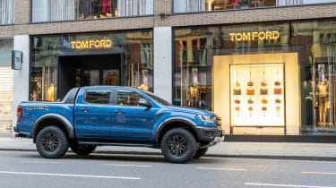 Ford Ranger Raptor UK - side
