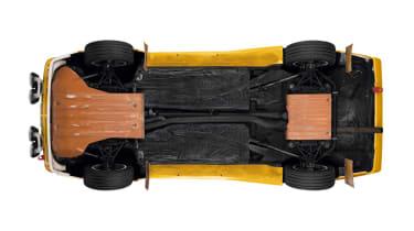 Audi Quattro - trays