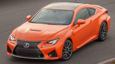Lexus RC F review, prices and specs