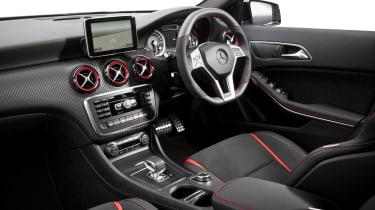 Mercedes A45 AMG interior dashboard