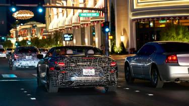 BMW 8-series cabrio test - rear