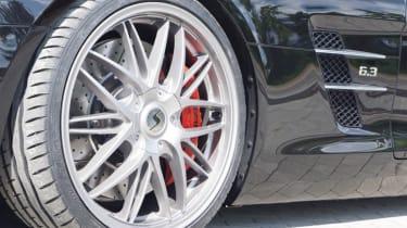 Mercedes SLS AMG Roadster Senner Schmidt Revolution alloy wheel