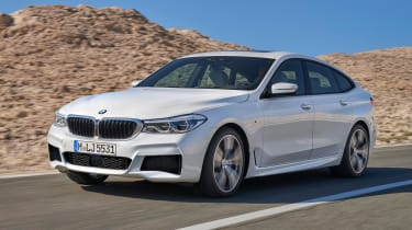 BMW 6-series GT - front driving 2