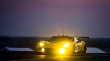 Le Mans 2017 - Corvette dusk