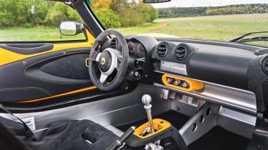 Lotus Elise Sprint 220 - cabin