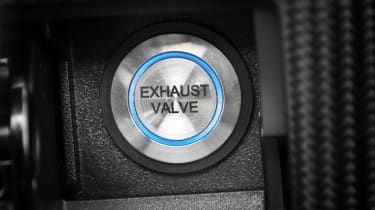 2012 Infiniti FX Vettel start button