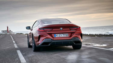 BMW M850i coupe review - rear
