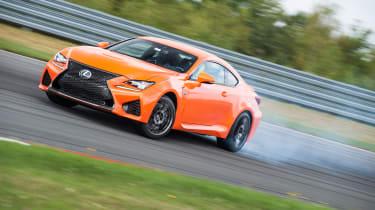 Lexus RC F drift