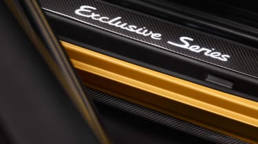 Porsche 911 Turbo S Exclusive Series - Sill plates