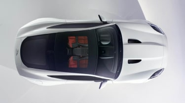 Jaguar F-type Coupe: overhead preview picture