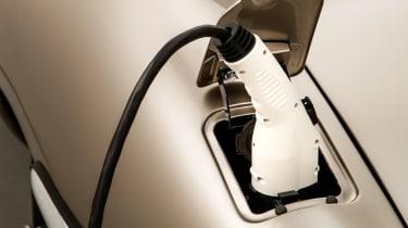 Jaguar Classic E-type Zero production - Recharge plug