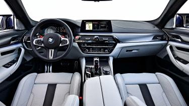 BMW M5 review - interior
