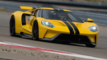 Ford GT - front cornering