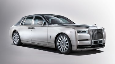 Rolls-Royce Phantom - front three quarter