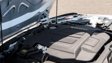 Jaguar F-type 400 Sport engine