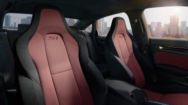Honda Civic Si – seats
