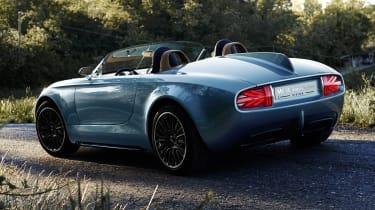 Mini Superleggera Vision sports car concept unveiled