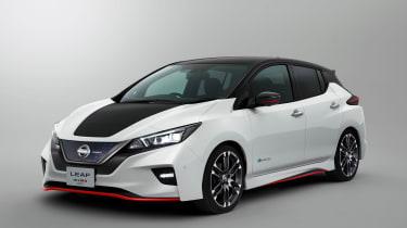 Nissan Leaf Nismo concept officials
