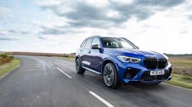 BMW X5M Competition - front tracking