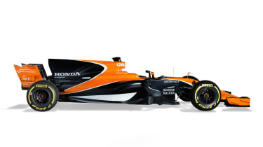 McLaren F1 car side 2