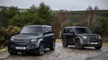 Land Rover Defender V8 MY22 - range 1