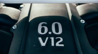 Aston Martin Vanquish S - 6.0-litre V12 engine