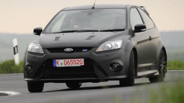 Ford Focus RS500 lairy cornering