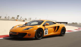McLaren 12C GT Sprint edition orange