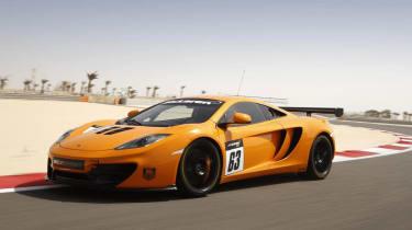 McLaren 12C GT Sprint edition orange