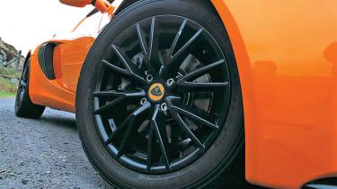 Lotus Exige S2 wheel and Yokohama tyre