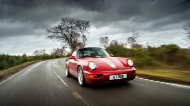 Everrati Porsche 964 – front tracking