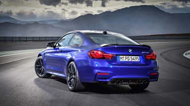 BMW M4 CS - rear three quarter