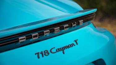 Porsche 718 Cayman T review - wing