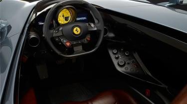 Ferrari Monza SP1 - interior