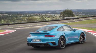 991.2 Porsche 911 Turbo S - rear static 3