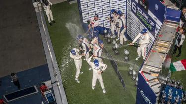 FIA WEC Shanghai podium celebration