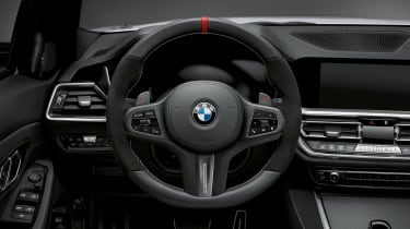 BMW 3-series G20 M Performance parts - steering wheel