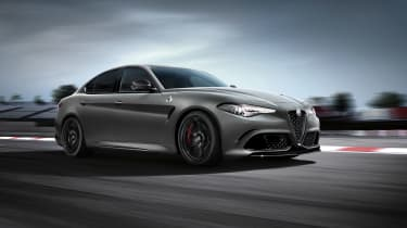 Alfa Romeo Giulia QV NRING - front