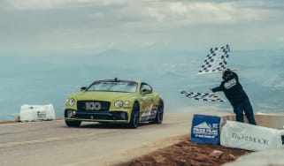 Continental GT Pikes Peak record - front