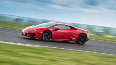 Lamborghini Huracan LP 580-2 side slide