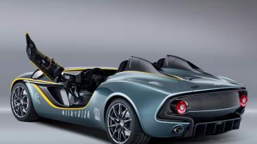 Aston Martin CC100 speedster concept door bar open